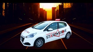 Peugeot 208 start and drive